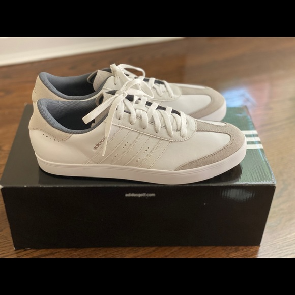 Men's adicross V golf shoes, size 11